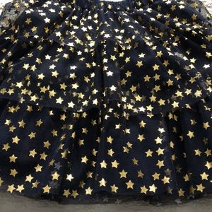 GAP Bottoms - Brand new blue and gold lace skirt